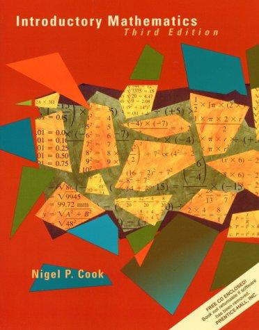 9780130161321: Introductory Mathematics (3rd Edition)