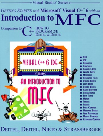 9780130161475: Getting Started with Visual C++ with an Introduction to MFC (Visual Studio)