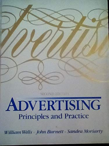 9780130162052: Advertising: Principles and Practice