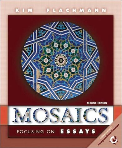 9780130163110: Mosaics: Focusing on Essays (2nd Edition)