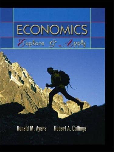 9780130164100: Economics: Explore and Apply