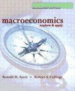 9780130164223: Macroeconomics: Explore & Apply