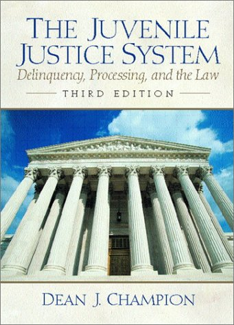 9780130166395: The Juvenile Justice System: Deliquency, Processing and the Law (3rd Edition)