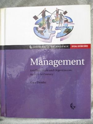 9780130167101: Management : Leading People & Organizations in the 21st Century