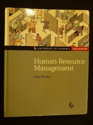 9780130167163: Uop Human Resource Management