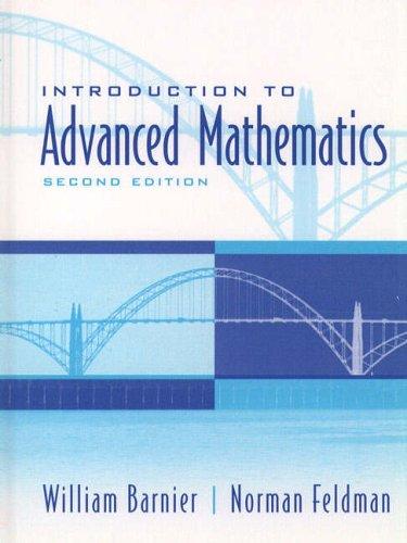 9780130167507: Introduction to Advanced Mathematics