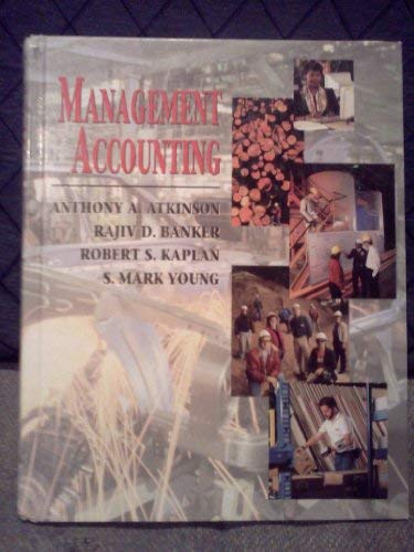 9780130168092: Management Accounting (Robert S. Kaplan Series in Management Accounting)
