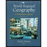 9780130168214: World Regional Geography