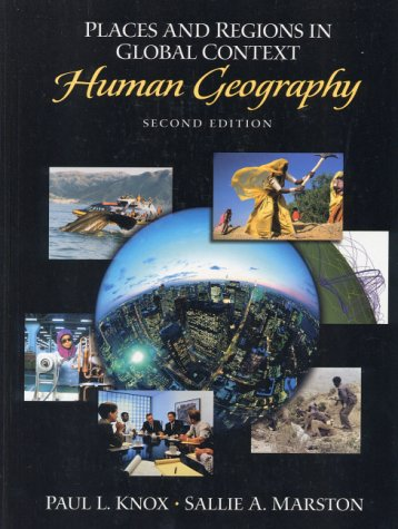 9780130168313: Places and Regions in Global Context: Human Geography