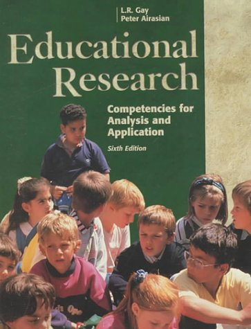 9780130168566: Educational Research: Competencies for Analysis and Applications (Includes Software for Windows)