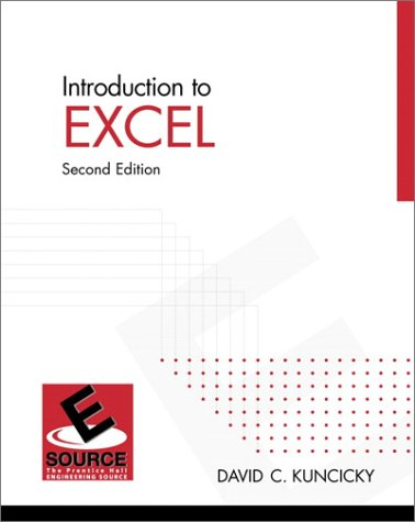 9780130168818: Introduction to Excel (2nd Edition)