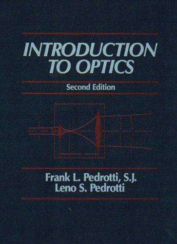 9780130169730: Introduction to Optics