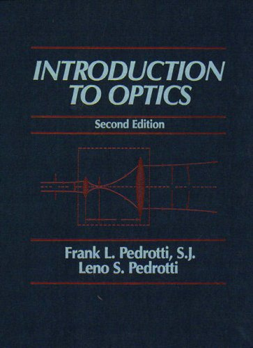 9780130169730: Introduction to Optics