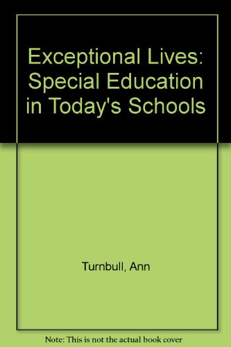9780130169785: Exceptional Lives: Special Education in Today's Schools
