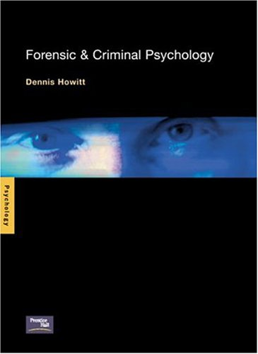 9780130169853: Forensic and Criminal Psychology