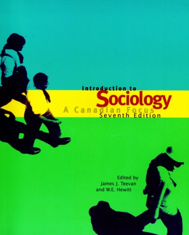 9780130170101: Introduction to Sociology: A Canadian Focus