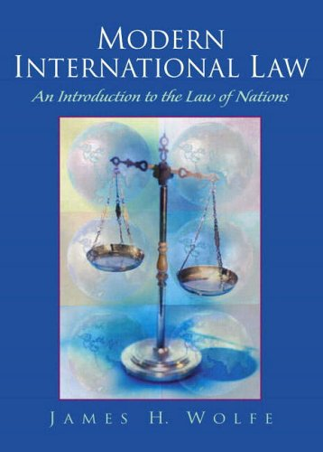 9780130170439: Modern International Law: An Introduction to the Law of Nations