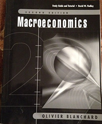 9780130172693: Macroeconomics, 2nd edition (Study Guide and Tutorial)