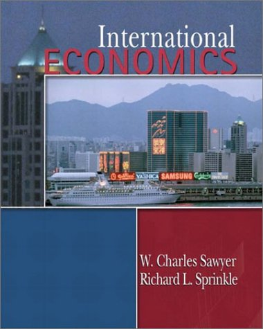 9780130172761: International Economics