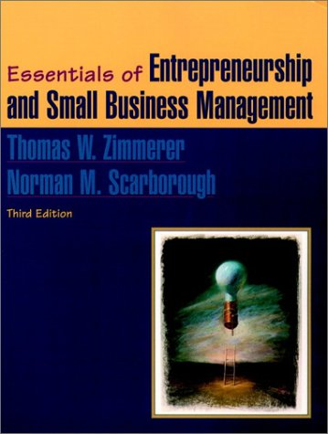 9780130172808: Essentials of Entrepreneurship and Small Business Management