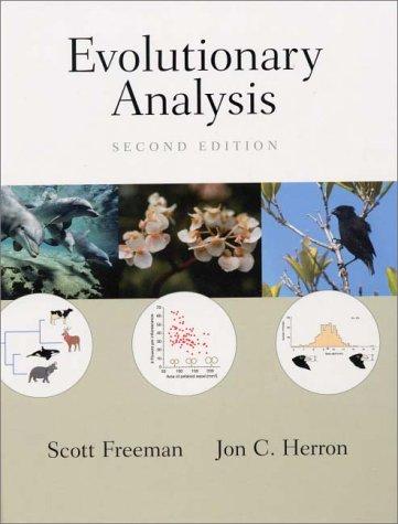 9780130172914: Evolutionary Analysis