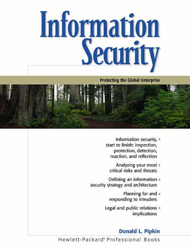 9780130173232: Information Security: Protecting the Global Enterprise
