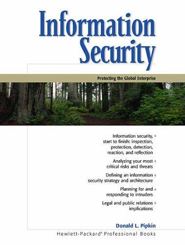 9780130173232: Information Security (Hewlett-Packard Professional Books)