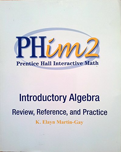 9780130173294: PHim2 Prentice Hall Interactive Math/Intermediate Algebra - Review, Reference, and Practice