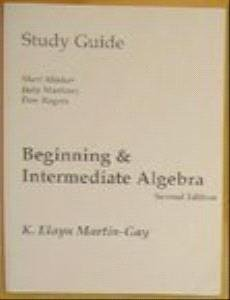 9780130173416: Beginning & Intermediate Algebra