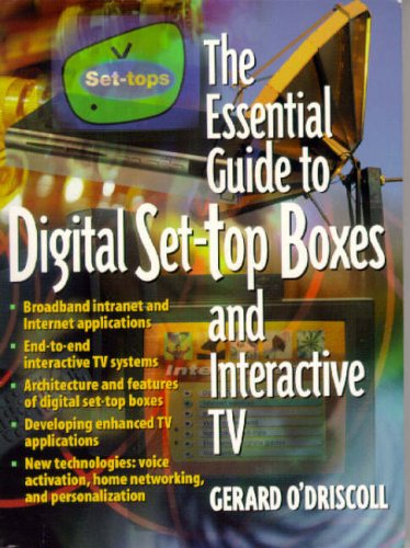 9780130173607: The Essential Guide to Digital Set-Top Boxes and Interactive TV (Essential Guides (Prentice Hall))