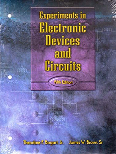 9780130173898: Experiments in Electronic Devices and Circuits