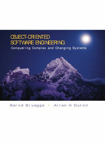 9780130174529: Object-oriented Software Engineering: Conquering Complex and Changing Systems (Prentice Hall international editions)