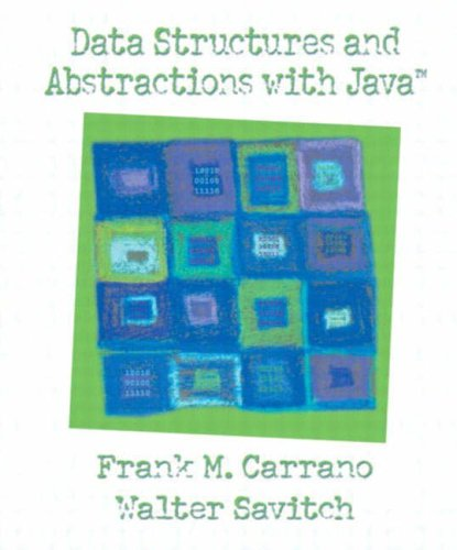 9780130174895: Data Structures and Abstractions with Java