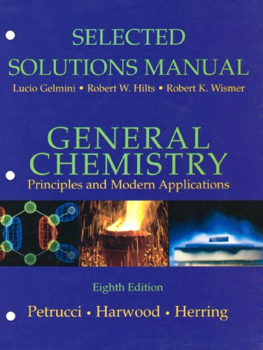 9780130176844: General Chemistry: Principles and Modern Applications
