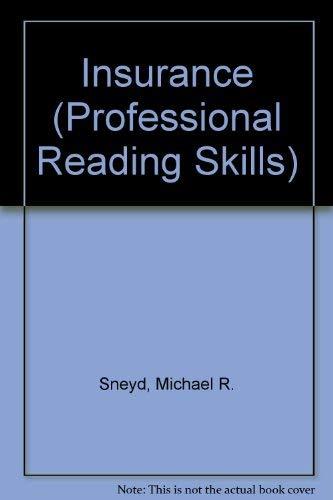 9780130177407: Insurance (Professional Reading Skills)
