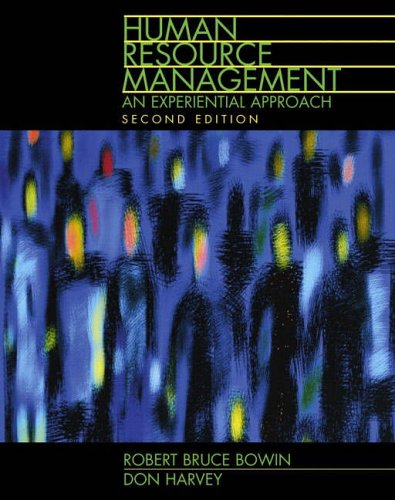 9780130177889: Human Resource Management: An Experiential Approach (2nd Edition)