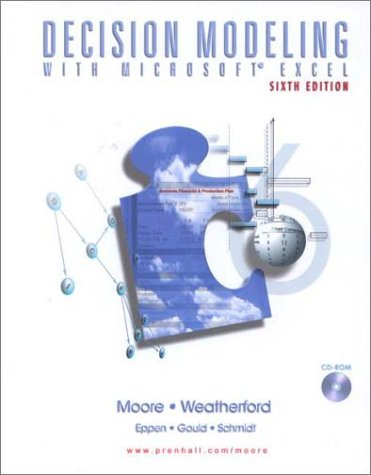 9780130177896: Decision Modeling with Microsoft(R) Excel (6th Edition)