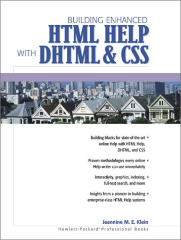 9780130179296: Building Enhanced HTML Help with DHTML and CSS