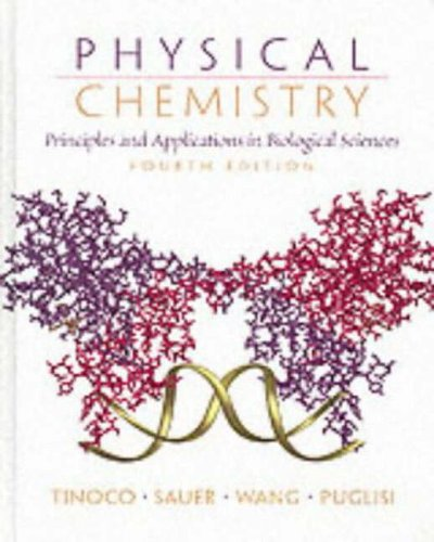 9780130179609: Physical Chemistry: Principles and Applications in Biological Sciences (Pie)