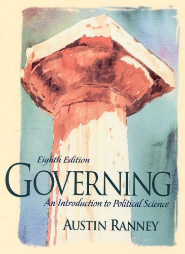 9780130180391: Governing: An Introduction to Political Science