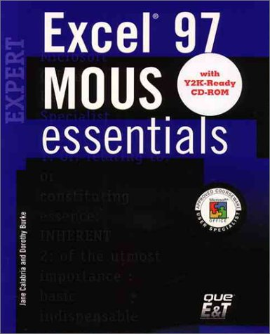 9780130180407: MOUS Essentials Excel 97 Expert, Y2K Ready