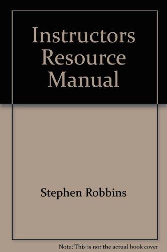 Organizational Behavior: Robbins, Stephen P.
