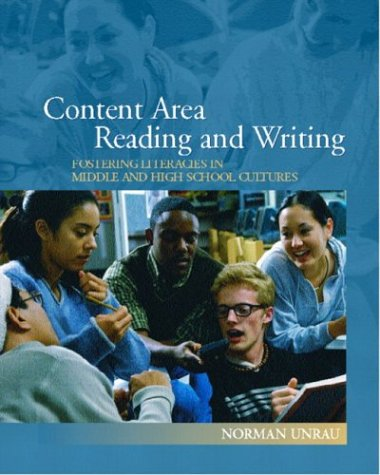 9780130184559: Content Area Reading and Writing: Fostering Literacies in Middle and High School Cultures