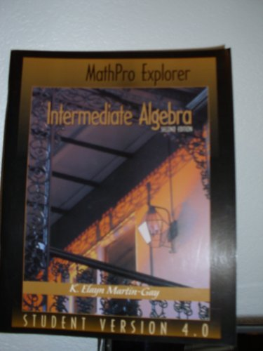 9780130185785: Intermediate Algebra
