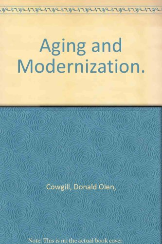9780130185808: Aging and Modernization.