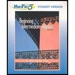 Beginning and Intermediate Algebra Mathpro 5 /: Martin-Gay, K. Elayn