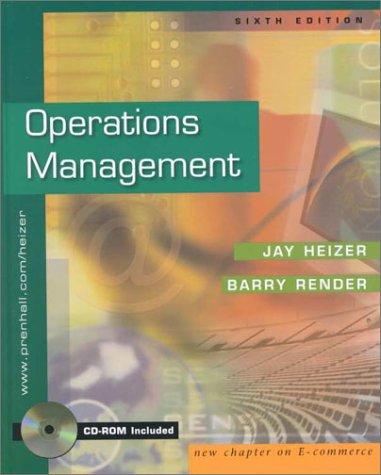 9780130186041: Operations Management