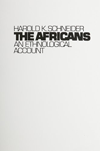 9780130186485: The Africans: An Ethnological Account
