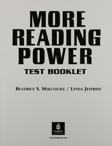9780130186492: More Reading Power