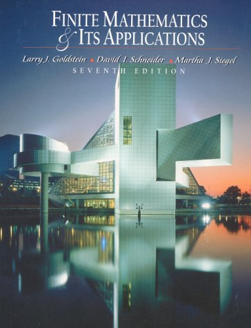 9780130186782: Finite Mathematics and Its Applications (7th Edition)